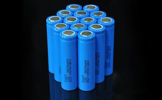 18650锂电池3.7V进口2500毫安高倍率电子烟移动电