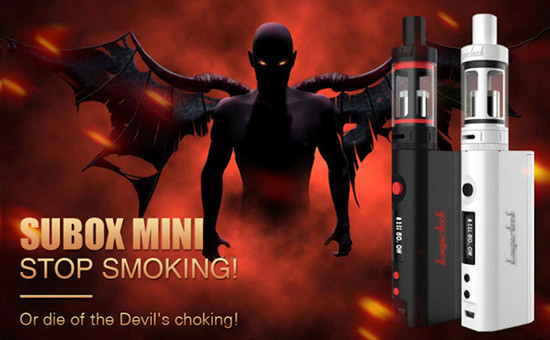 热销款subox mini电子烟套装50W超大