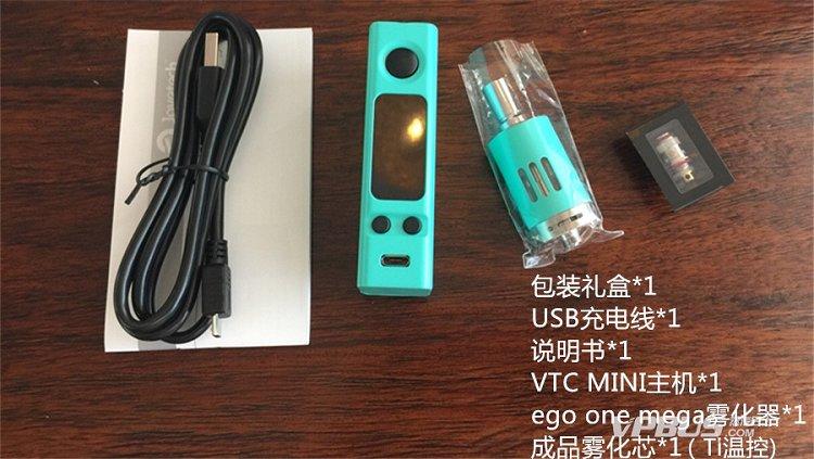 Joyetech VTC Mini电子烟套装怎么样和使用说明教程-图6