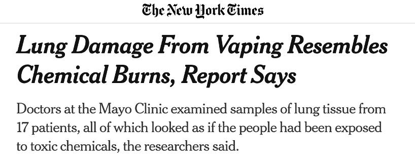"""美国2007年开始售卖电子烟,为何""""电子烟疾"""