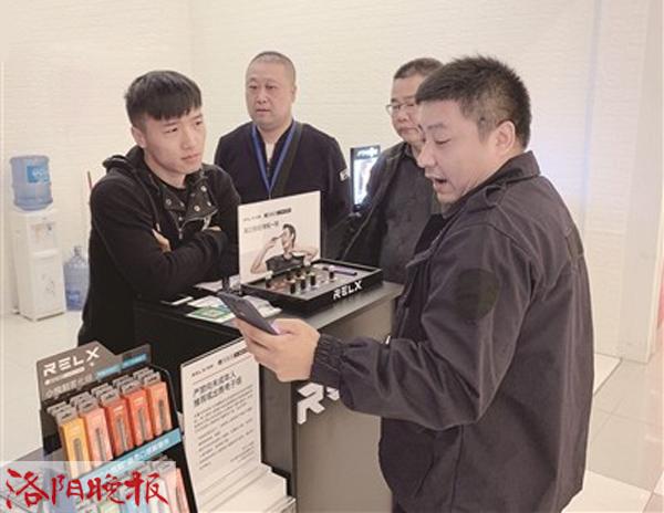 记者调查:购物网站下架电子烟 到店购买要验证年龄