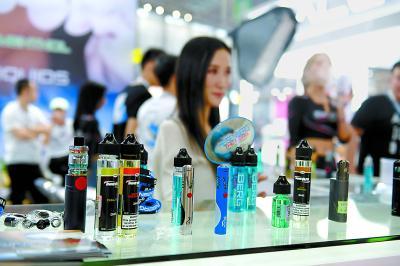市面上的电子烟花样繁多。供图/ICPHOTO