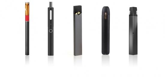 形形色色的电子烟产品。(来源:美国FDA官网)