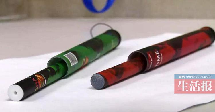 南宁两名小学生偷吸电子烟 竟是在学校旁商店买的