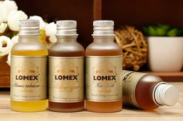 买烟油暗号 LOMEX盐立方尼古丁盐烟油