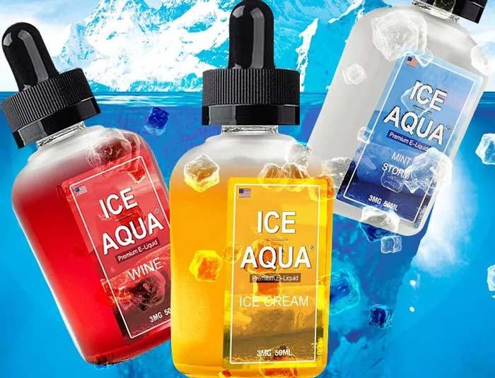ICE AQUA深海冰泉香蕉冰淇淋烟油评测