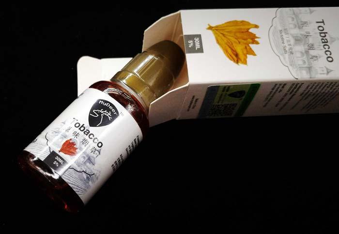 MyDeer尼古丁盐系列烟油体验