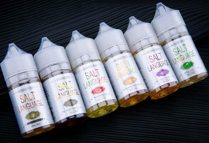 正规烟油购买平台 盐语尼古丁盐烟油哪里有卖