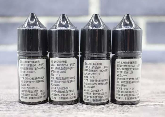 哪里有电子烟油推荐丛林幻境尼古丁盐烟油口感怎么样?