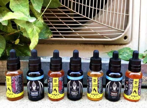 电子烟小烟烟油——HALO尼古丁盐烟油哪个口味最好抽?