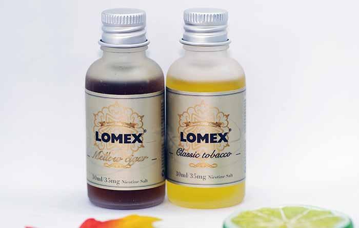 LOMEX尼古丁盐烟油评测